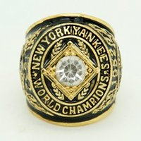 Wholesale Rings For Men Opal - High quality 1952 new york yankees worls series championship ring for sports men