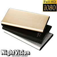 Wholesale wholesale night vision camcorder - H2 Power bank pinhole Camera Full HD 1080 Mobile Power Bank Video Recorder with Night Vision Power Supply Camcorder 90 Wide Angle DVR