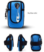 Wholesale Waterproof Pouch Cellphone - Multi-function cellphone card bag outdoor sports arm band running riding waterproof