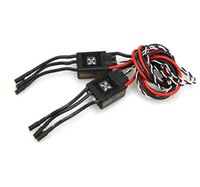 Wholesale Diy Rc Controller - F17551 2 Pcs Hobbywing XRotor Pro 50A 4-6S Brushless speed controller ESC Multi-Rotor Aircaft DIY For RC Drone Heli Aircraft