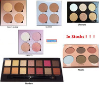 Wholesale Very Pink - Pink Glow Kit kit Makeup Face Foundation Powder Blusher Palette Cosmetic Bronzers & Highlighters Shining Package Very High Quality