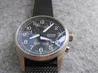 Wholesale Chronograph Pilot Watch - high quality men watch 41mm chronograph chrono quartz BIG CROWN PRO PILOT watch wristwatch