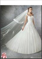 Wholesale Embroidery Aline Wedding Dress - Robe De Soiree Princess Wedding Dress 2017 Modest Sweetheart White Aline Bridal Gowns Vestidos De Novia Cheap Free Bridal Veils