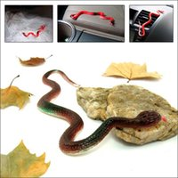 Giocattoli Stranieri TPR Snake Animal Mischievous Tricky Toys per Halloween Party Fool's Day