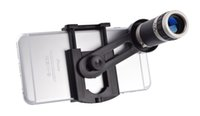 Universal 8x optisches Zoom Teleskop Kameraobjektiv mit Mini-Stativ-Halter für Handy iPhone 6 Plus 5 5 s Samsung Galaxy S5 I9600