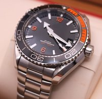 Wholesale Ocean Stainless - Factory Supplier AAA Top Quality Planet Ocean Automatic machinery Mens Watch Stainless steel Men's Sports Wrist Watches