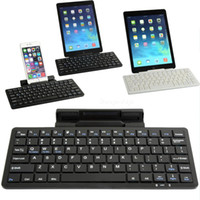 Wholesale Retail Package Wireless Bluetooth Keyboard - Bluetooth 3.0 Wireless Keyboard KB-1303 for iPad iPhone Android Sumsung with Retail Packaging free shipping