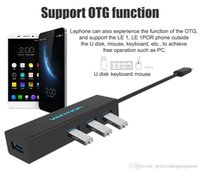 Vention High Speed ​​Tipo C a 4 puertos USB 3.0 HUB 10cm Cable USB-C 3.1 a USB Splitter para teléfonos Pro Macbook Keyboard HD Mouse