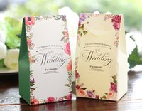 Wholesale Pink Wedding Box Favors - Wholesale wedding favors party favors 2017 secret garden series candy box wedding gifts for guests hot sale wedding favor candy box