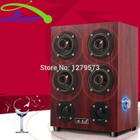 Wholesale Home Surround Sound Wireless - Wholesale- High Performance 4.0 Surround Sound Home Theater Speakers System For Home Theater TV Computer MP3 4 Players Tablet Music Systems