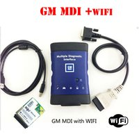 Wholesale Automotive Products - Newest product GM MDI wifi hdd 2017.2 with plastic box optinal for gm diagnostic tool for cars trucks with free DHL shipping
