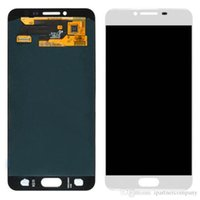 Wholesale galaxy mini lcd - For Samsung Galaxy C5 C5000 Gold And White Color LCD Display Touch Screen Digitizer assembly high quality LCD display screen