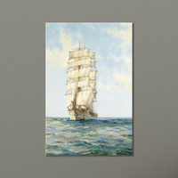 Wholesale Abstract Ocean Art Canvas - Cheap Wholesale Painting Wall Decorative Prints Ocean Decor Canvas Wall Art Painting Sailing Ship Modular Pictures on the Wall