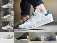 Wholesale Women Top Stars - 2017 originals superstar stan smith Men Women all White black red green super star stansmith casual shoes top quality eur 36 44