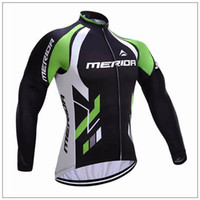 Wholesale merida cycle tops - 2017 Newest Pro Team Merida Cycling Clothing Men Women long Sleeve tops Cycling Jersey bike clothes mtb bicycle maillot ropa ciclismo A1103