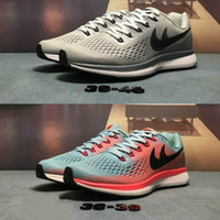 Wholesale Sneaker 34 - 2017 Air Zoom Pegasus 34 running shoes men and women sneakers 2017 high quality breathable mesh cloth Pegasus34 generation size 36-45