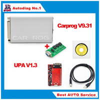 Wholesale Carprog Nissan - Stock CAR PROG FULL V10.05 V7.28 Professional carprog repair tool + UPA USB programmer V1.3 in one package ECU programming