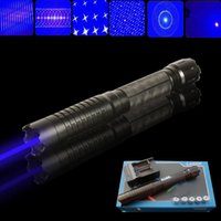 Wholesale Paper Matches - Thor M 445nm 450nm Adjustable Fcous Power Blue Laser Pointer Pen Torch Match Paper Free Shipping