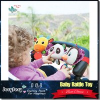 Wholesale Toy Cars Play Music - Sozzy Baby Musical Travel Trio Plush Toy Car Plush Dolls Stretch & Play Twinkling Lights Playful Music Baby Toy