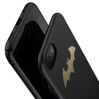 Wholesale Iphone Ultrathin Case Frosted - Fashion Batman Ultrathin Frosted Hard Shockproof Cell Mobile Phone Protective Cover Case For iPhone 7 6s Plus SJK-038