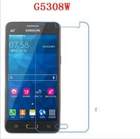 samsung galaxy prime için temperli cam toptan satış-Samsung Galaxy Not 2 Not 3 Grand Başbakan G530 CORE Başbakan G360 Galaxy ON5 ON7 9 H Premium 2.5D Temperli Cam Ekran Koruyucu 200 adet