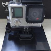 schwarze digitalkameras großhandel-HERO4 Schwarz Sport Kamera, die nicht Original mit 16 GB Secure Digital Speicherkarte und Zubehör Akzeptieren Sie keine gefälschte Artikel Beschwerde