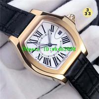Wholesale 2824 Watch - Luxury Brand Rose Gold ETA 2824 Automatic Movement Mens Watch Sapphire Crystal Black   White Dial Luminous Steel Bracelet Mans Wristwatches