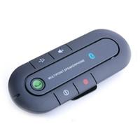 Wholesale Bluetooth Clips - Wireless Handsfree Car Bluetooth Kit Speaker Speakerphone Clip