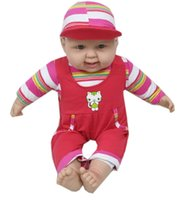 Wholesale China Hot Doll - Hot!!!Very lovely cute fashion comfortable play baby doll toy red blue yellow green washable
