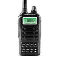 radio fcc al por mayor-Venta al por mayor- Banda dual 2 vías radio doble modo de espera pantalla dual QUANSHENG TG-UV2 con certificación FCC CE Walkie Talkie