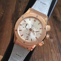 Wholesale Straps Bronze - AAA Famous Luxury Brand Rubber Strap Mens Watches High Quality Sport Fashion Quartz Chronograph Wristwatches Original Clasp