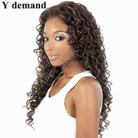 Wholesale Hair For Sale Online - Classic Fashion New Long Afro Kinky Short Curly Wigs None Lace Wig Cheap Wigs Online Synthetic Hair For Sale In Stock Y demand