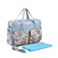 Wholesale Baby B Bag - Wholesale- Multicolor mother diaper bag shoulder handbag highquality maternity mother stroller baby bag multifunctional women messenger b
