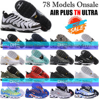 Wholesale Tan For Cheap - Cheap quailty Fashion TN Air Running Shoes For Mens Air Plus TN Ultra Shoes Sports TN Requin Sneakers Breathable Men Running Shoes 40-46