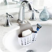 Wholesale Towel Rack Basket - Kitchen Sink Hanging Drain Rack Organizer Storage Holder Basket Sponge Towel Draining Rack Cleaning Brush Toothbrush Holder