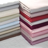 Wholesale Egyptian Sheet - 250* 270cm  230* 260cm Sheets can be customized, Pure cotton, Solid color, Egyptian cotton sheet, free shipping