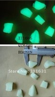 Wholesale Wholesale Pebble Glass - big size 25-35mm 5kg   lot Decorative Gravel Garden or Yard Glow in the Dark Pebbles Stones for Walkway Park Ornaments