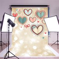 chinesische kulissen großhandel-SUSU 5x7ft Digitale Fotografie Backdrops Aquarell Glitter Foto Hintergrund Chinesischen Stil Liebe Fotostudio für Kinder