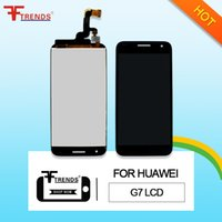 Wholesale Huawei P6 Free Shipping - High Quality A+++ for HUAWEI Ascend P6 G6 G7 LCD Display & Touch Screen Digitizer with   No Frame Assembly Free Shipping