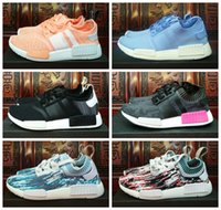 Wholesale Royal Crafts - New NMD Runner R1 Primeknit Sun Glow Essential Pink Master Craft Datamosh Pack Women Men Best Running Shoes Originals NMDs Sport Shoes