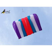 Wholesale Power Surf - NEW Single line RED BLUE Power Eight Holes Umbrella kite good fly surfing sports