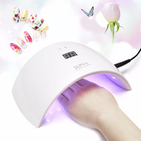 SUN9S 24W LED Nail Dryer Pro White Light Gel Cura UV Lâmpada Nail Art Dryer Fast Curing Polish Manicure Salon Machine Tool
