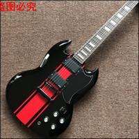botões de instrumentos venda por atacado-2017 Instrumentos Musicais Chinês Guitarras Elétricas 22 Malha Fechada Brasil Madeira Chegam Novas Custom Shop Sg G400 Real Photo Shows