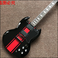 Wholesale Chinese Musical Instrument Shop - 2017 Musical Instruments Chinese Electric Guitars 22 Closed Knob Brazil Wood New Arrive Custom Shop Sg G400 Real Photo Shows