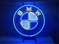 "Wholesale Auto Dealer - German Auto Car Neon Light Sign Real Glass Beer Bar Pub Store Dealer 17x14"""