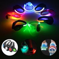 Wholesale Mtb Cycling Shoe - 3 Mode MTB Bicycle Bike Light With Battery Shoes Glowing Clip Night Running Cycling Safety Warning LED Flashlight Waterproof