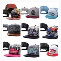 Wholesale Fits Models - Good Quality 2017 FREE SHIPPING Hot selling snapbacks hats cheap fashion Van cap adjustable new models snapback hat street wear cap