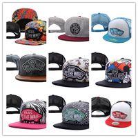 Wholesale Worn Hat - Good Quality 2018 FREE SHIPPING Hot selling snapbacks hats cheap fashion Van cap adjustable new models snapback hat street wear cap