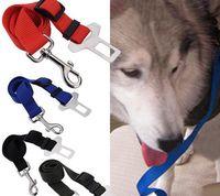 Wholesale Dog Lead Clips - Adjustable Practical Dog Pet Car Safety Leash Seat Belt Harness Restraint Lead Travel Clip