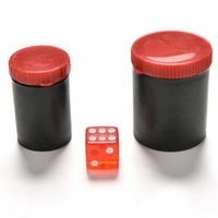 Atacado 4.9cm * 4cm Talking Dice Telescope Binóculos Magic Toy Ouvir Dice Box-magic Props Magic Tricks Toys